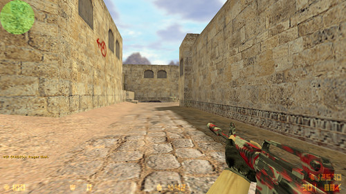 m4a1 Blood Camouflage